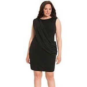 Lane Bryant Collection Black Buckle Back Dress